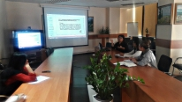 IQAA has organized a training session for new employees.