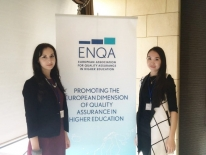Representatives of IQAA participated in the conference «Social dimension of e-learning – Addressing challenges through QA».