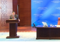 On 31 May 2017 the President of IQAA took part in the reporting meeting of the Minister of Education and Science of the Republic of Kazakhstan Sagadiyev E.K. with the citizens